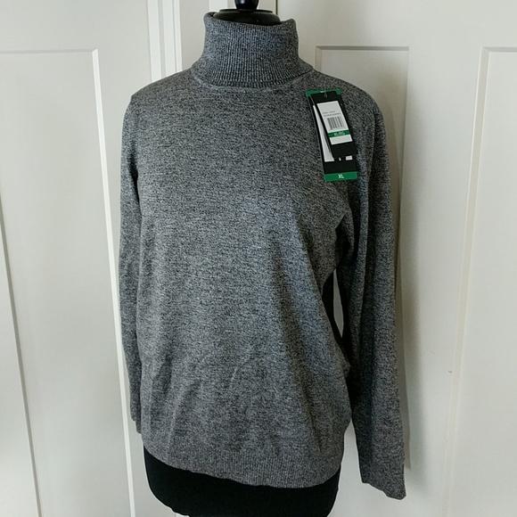 7d3e4b0322 NWT Andrew Marc turtleneck sweater XL
